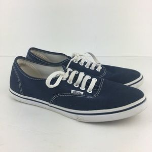 Navy Blue Vans Men's 9.5/Women's 11